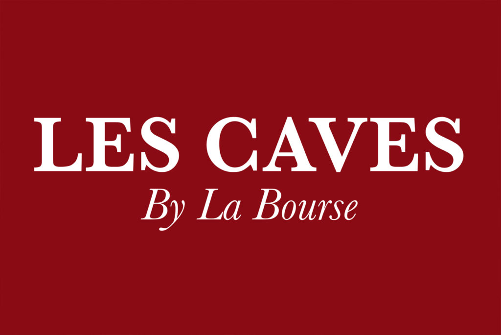 logo les caves de la bourse à carouge