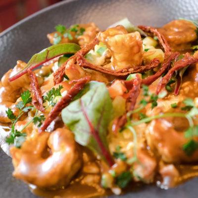 Notre Risotto aux crevettes et curry, c'est comme un Lundi au Soleil !